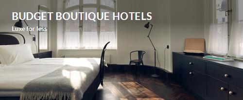 budget boutique hotel