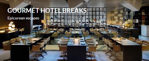 gourmet hotel breaks